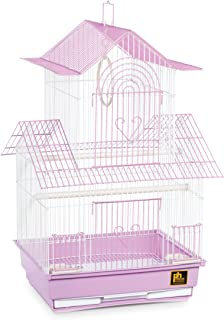 Prevue Hendryx SP1720-3 Shanghai Parakeet Cage, Lilac and White