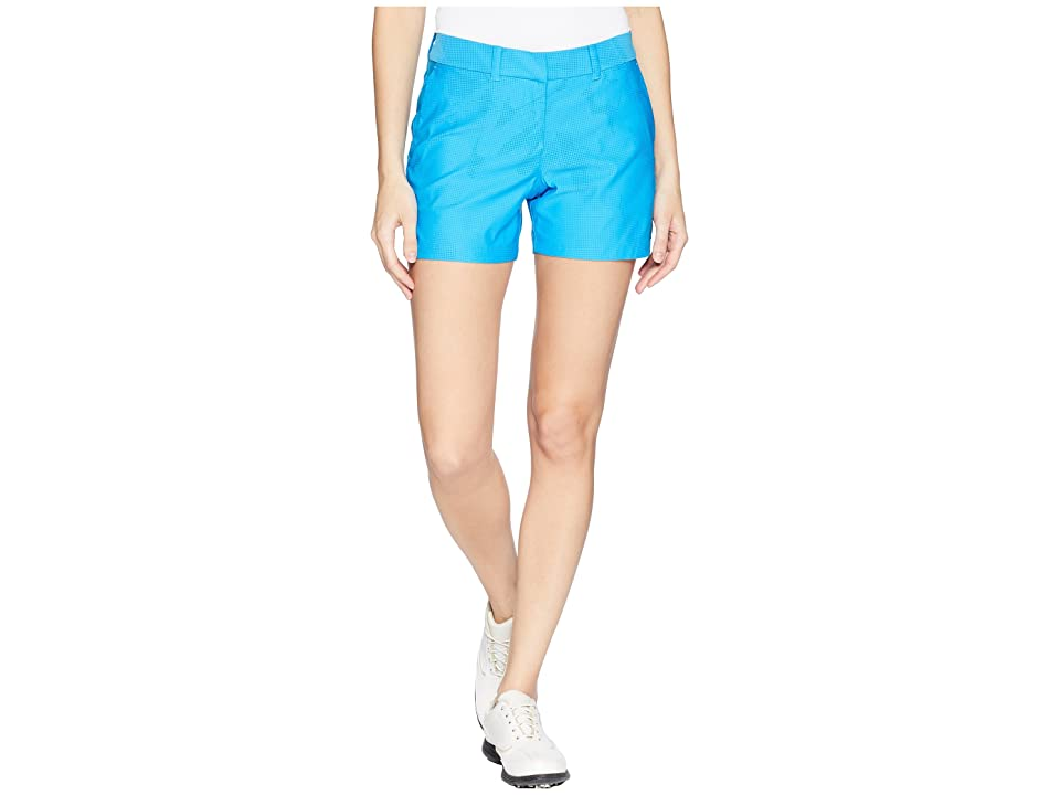 Nike Golf Woven 4.5 Sub Print Flex Shorts (Equator Blue/Blue Nebula/Equator Blue) Women
