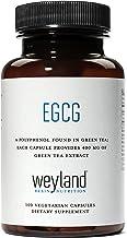 Weyland: EGCG from Green Tea Extract, 400 mg (100 Vegetarian Capsules)