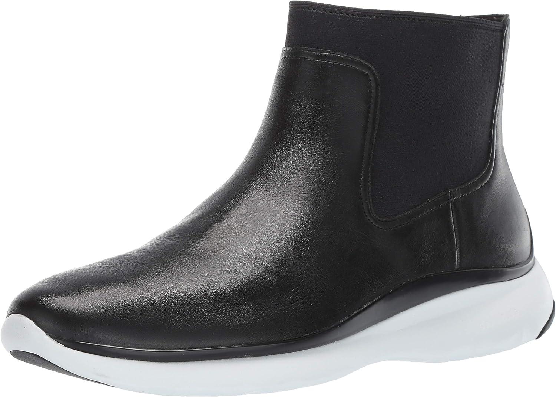 Cole Haan Damen Stiefelie Waterproof 3.Zerogrand Chelsea-Stiefelette, wasserdicht, schwarz Leather, 7.5 M EU