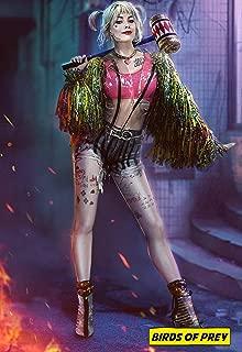 GZSGWLI Birds of Prey (and The Fantabulous Emancipation of One Harley Quinn) 2020 Movie Poster 24x36inch Silk