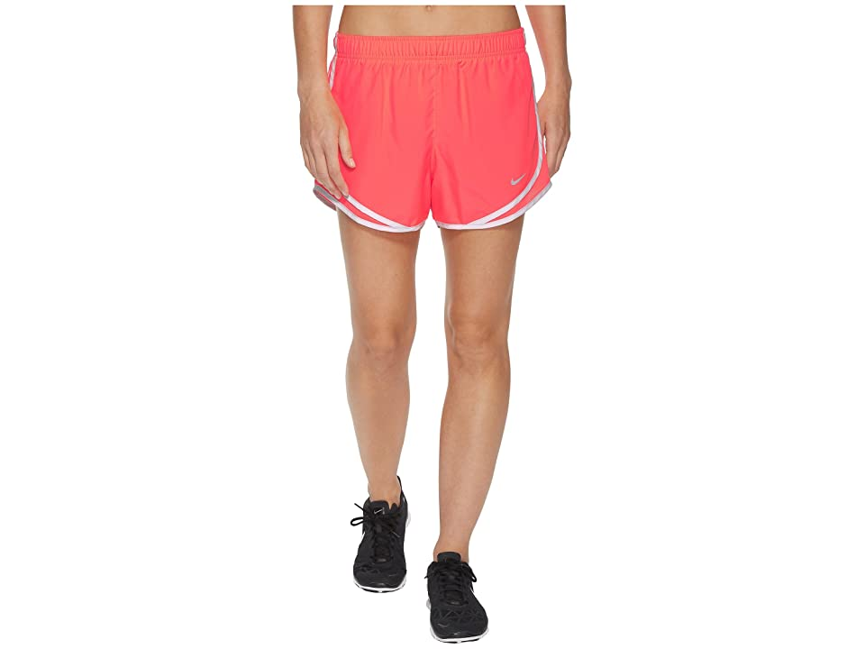 Nike Dry Tempo Short (Hot Punch/Hot Punch/Vast Grey/Wolf Grey) Women