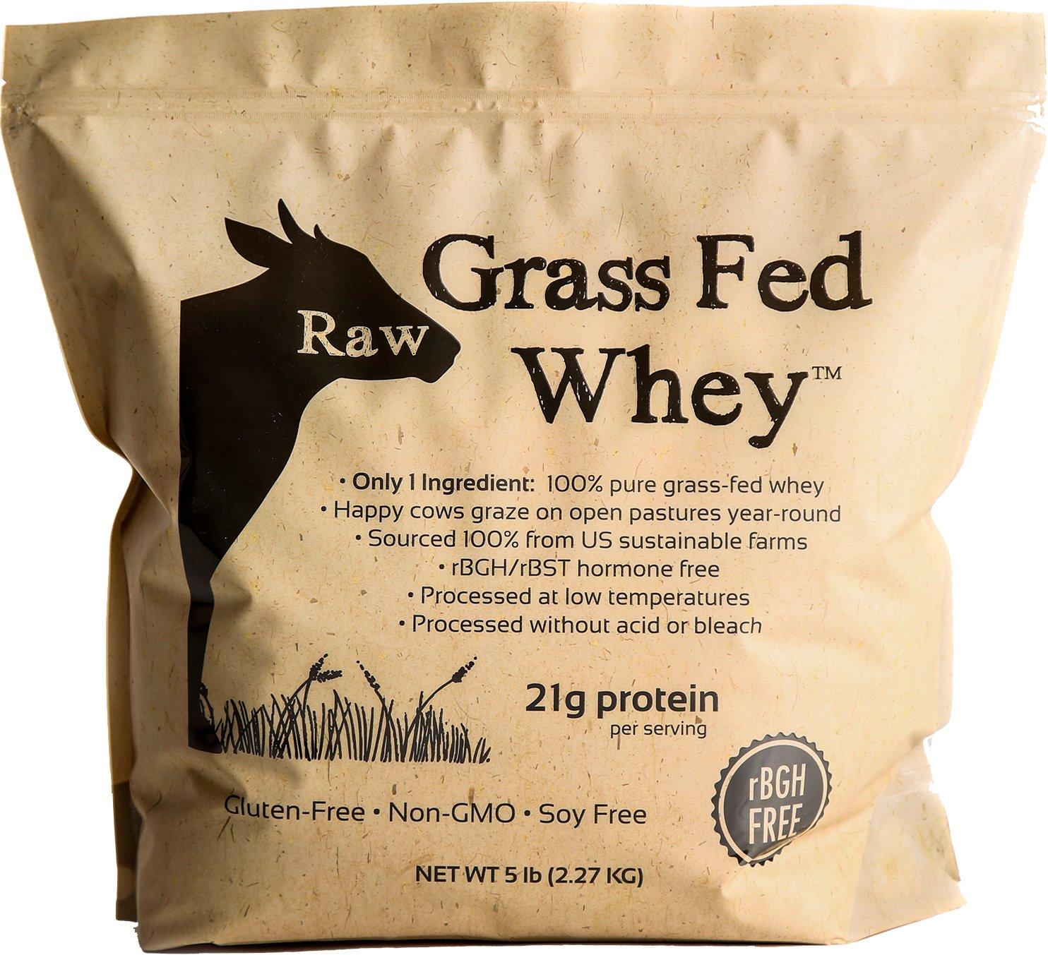 Raw Grass Fed Whey 5LB