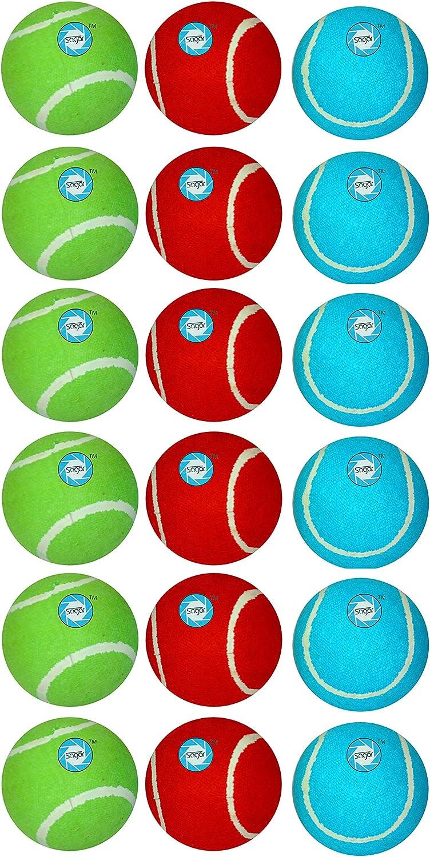 Shail sagar Set of Tennis Ball 64 mm in 3 Colors