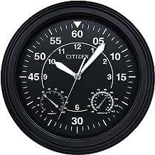 ساعة حائط سيتيزن CC2016 الخارجية - اسود