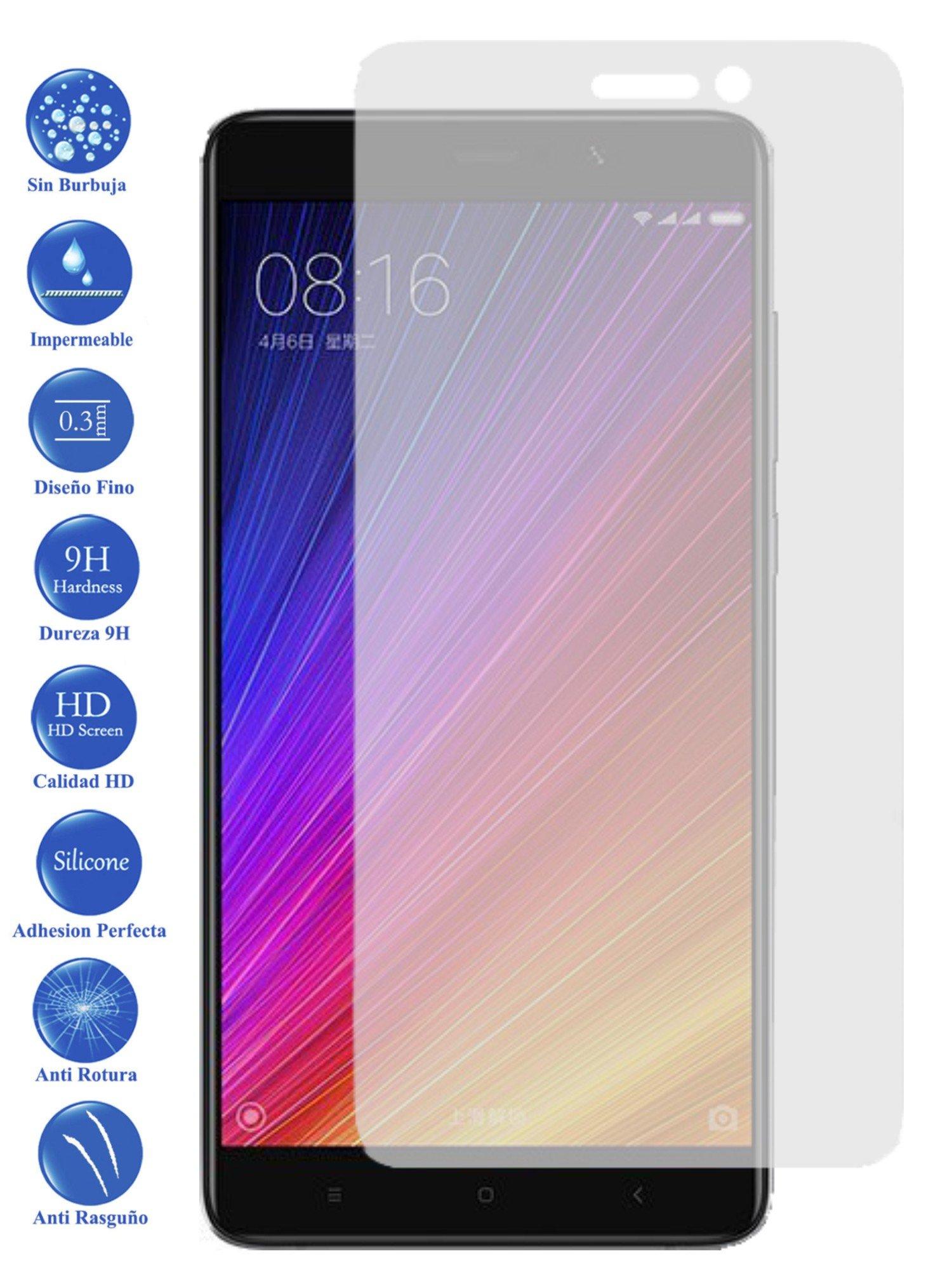 Todotumovil Protector de Pantalla Xiaomi MI5S Plus de Cristal Templado Vidrio 9H para movil: Amazon.es: Electrónica