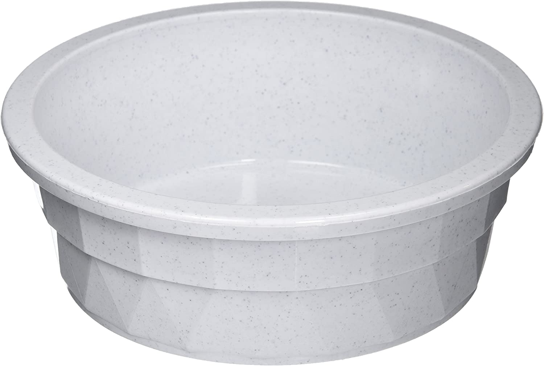 10. Van Ness Large Crock Heavyweight Pet Dish