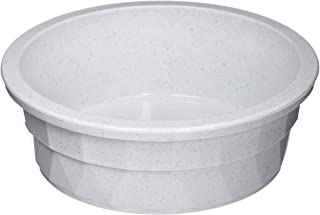 Pureness Heavyweight Large Crock Pet Dish, 52-Ounce, Colors May Vary