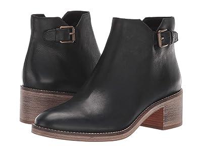 Cole Haan Harrington Grand Buckle Boot (Black Leather) Women