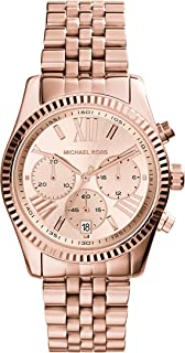 Michael Kors Women's Quartz Watch, Chronograph Display and Stainless Steel Strap MK5569