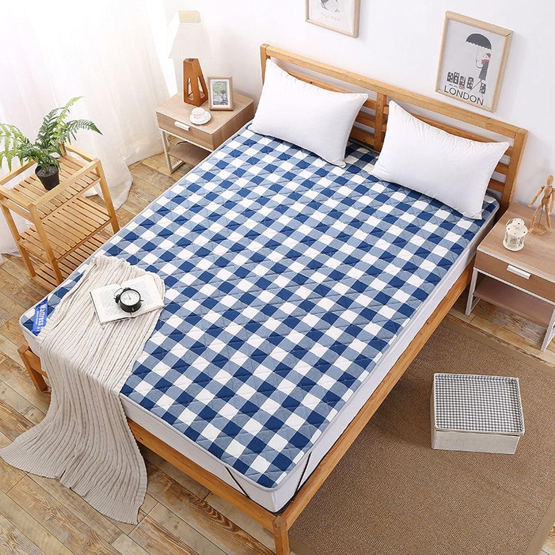 Cotton Washed Bed Mattress Tatami Mattress Student Dormitory Mat is Folding Mattress-C 90x200cm(35x79inch)