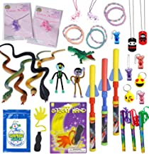 Fab 40 Premium Prize Pack by Secret Surprise Sack - 40 Bigger, Better Quality Treasure Chest Toys, Carnival Prizes, Party Favors, Easter Basket Stuffers or Stocking Stuffers