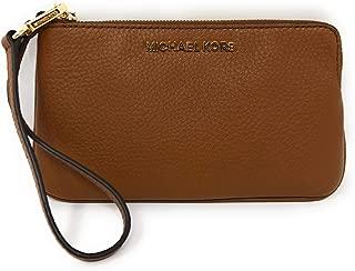 Michael Kors LG Jet Set Travel Pebbled Leather Wallet Luggage