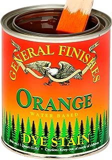 General Finishes 染色剂 橙色 1 加仑 DGO