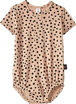 Camel Freckle Bubble One-Piece (Infant)