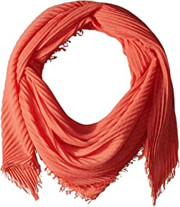 Pleated Diamond Shape Scarf