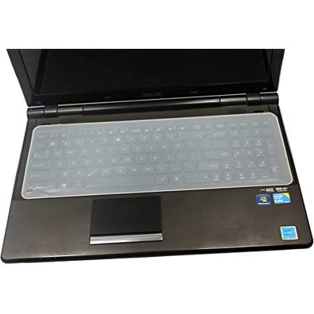 Universal Silicone Keyboard Protector Skin for 15.6-inch Laptop