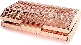 rose gold clutch purse