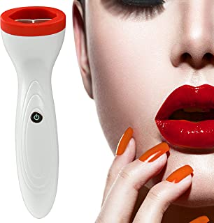 Dưỡng môi căng – Star Brand Lip Plumper Device 3 Gears Power Type Electric Lip Enhancer USB Automatic Silicone Thicker Lips Plumping Tool Intelligent Deflated Designed Beauty Lip Enhancement Lip Trainer for Women and