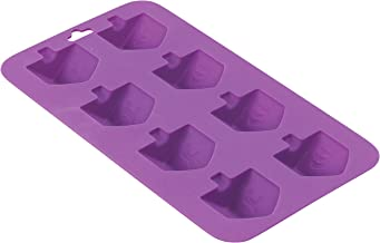 Dreidel Shaped Silicone Mold - Freeze, Bake and Jel for Candy, Cookies, Ice Cube, Chocolate and More - Oven and Freezer Sa...