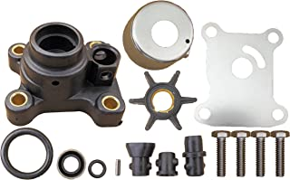 Evinrude Johnson 2 & 4 Stroke 9.9 15 HP 1974 Through 2005 Water Pump Impeller Kit Replaces 394711