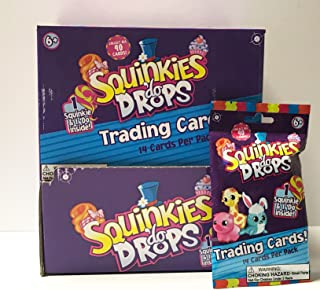 Squinkies Do Drops Trading Cards & Squinkie & Do Drop Box of 24 Packs