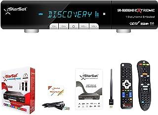 StarSat SR-90000HD EXTREME Double Tuner Full HD Satellite Receiver, 1x90° & 1x2.4G Remotes, 3G, USB, HDMI, AV, LAN, DLNA, ...