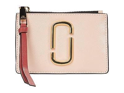 Marc Jacobs Snapshot Top Zip Multi Wallet (New Rose Multi) Wallet Handbags