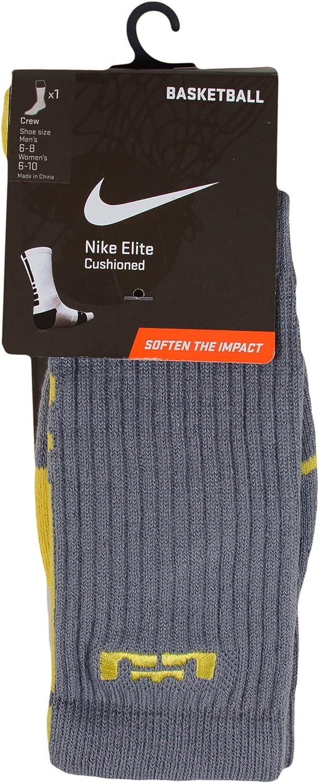 Nike LeBron Elite Basketball High Crew Socks (6-8) Medium
