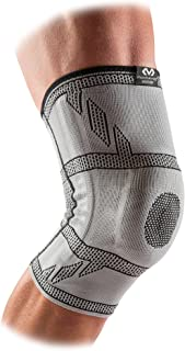 McDavid Elite Knee Sleeve with Gel Pad and Stays. Compression Knee Patella Support for Knee Pain Relief. Engineered Elasti...