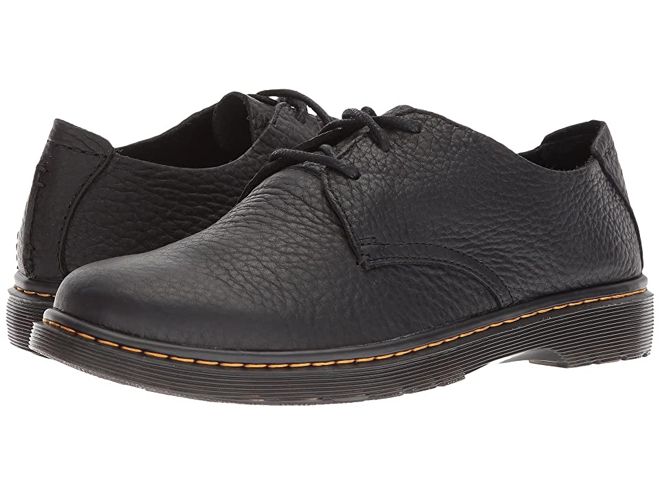 Dr. Martens Elsfield 3-Eye Shoe (Black Grizzly) Men
