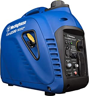 Westinghouse iGen2200 Super Quiet Portable Inverter Generator 1800 Rated & 2200 Peak..