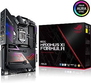 ASUS ROG Maximus XI Formula - Placa base Gaming ATX Intel de 8a y 9a gen Z390 LGA 1151 con disipador M.2, Iluminación LED Aura Sync RGB, DDR4 4400,Wi-Fi 802.11ac, 2 M.2, SATA 6 Gb/s y USB 3.1 Gen.2