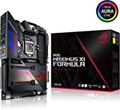 Asus ROG Maximus XI Formula LGA1151 (Intel 8th and 9th Gen) ATX DDR4 HDMI M.2 USB 3.1 Gen2 Z390 Gaming Motherboard