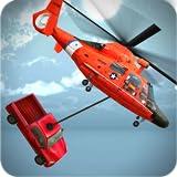 ヘリコプター救助シミュレータチョッパーゲーム3D - 子供のための楽しいと挑戦的な飛行機&ヘリコプター飛行のゲーム2018