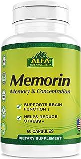 Memorin 60 Capsules. Vitamin B Formula with Ginkgo Biloba. Supports Brain Health and Memory