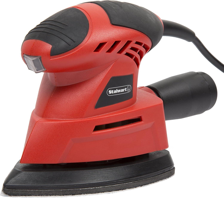Stalwart - 75-50128 Mouse Sander List price Time sale Blue 28 Set pc