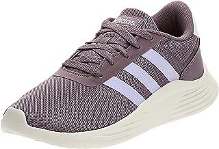 Adidas Lite Racer 2.0 Textile Side Stripe Heel-Tab Logo Running Shoes for Women