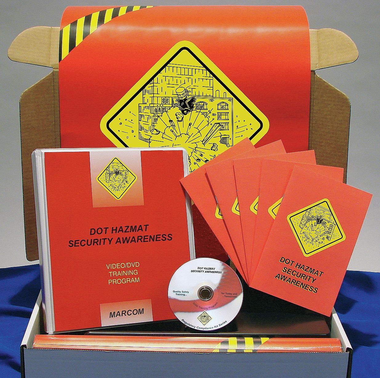 Marcom Group K0001759EO low-pricing DOT Hazmat Traini Awareness Import DVD Security