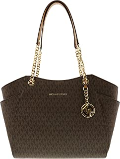 9d86cac7acfd Michael Kors Jet Set Travel Large Chain Shoulder Tote