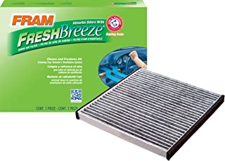 FRAM CF10132 Fresh Breeze Cabin Air Filter with Arm & Hammer