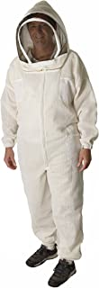 The Ultra Breeze Beekeeping Suit with Veil, 1-Unit, White, X-Large