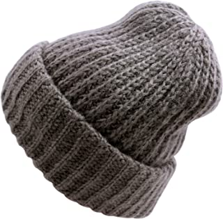 WDSKY Women's Rib Knit Cuffed Beanie Hats Warm