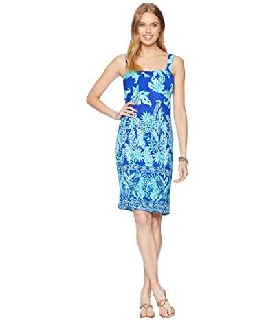 Lilly Pulitzer Annalee Stretch Dress (Royal Purple Jungle Path Engineered) Women