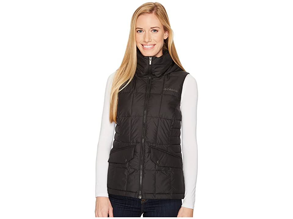 Columbia Lone Creek Hooded Vest (Black) Women
