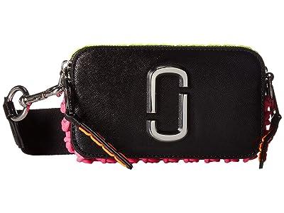 Marc Jacobs Snapshot Whipstitches (Black) Handbags