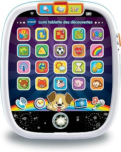 VTech- Lumi Tablette des Découvertes, 602905 - Version FR