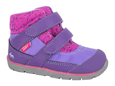 See Kai Run Kids Atlas II WP/IN (Toddler/Little Kid/Big Kid) (Purple/Hot Pink) Girl