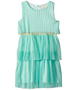 Pleated Dress (Toddler/Little Kids)
