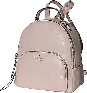 Kate Spade Jackson Medium Leather Backpack Warm Vellum